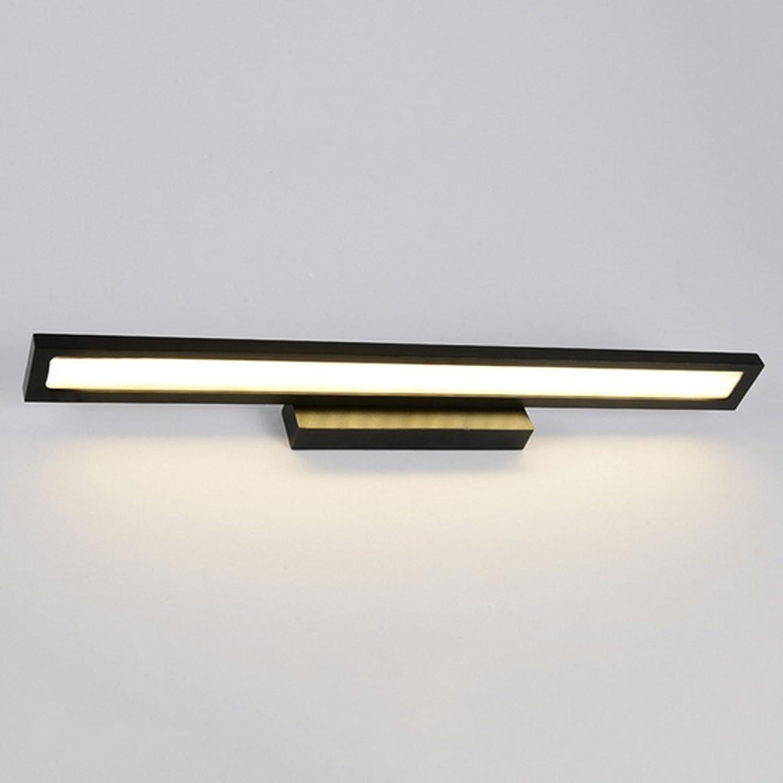 Kreative Spiegelkabinett Licht Wandleuchte Einfache wasserdichte Anti - Nebel Badezimmer Schlafzimmer LED - Leuchten ( farbe   Warmes licht-53cm )