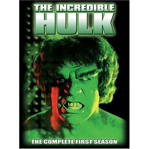 The Incredible Hulk - Season 1 [4 DVDs] [UK Import]