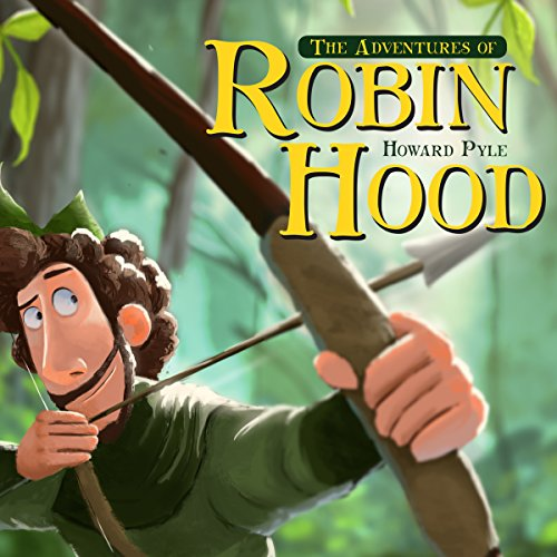 The Adventures of Robin Hood audiobook cover art