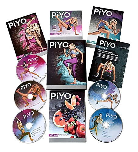 ANKUY PiY0 DVD, on 5 Workout DVD  Pilates/Yoga with Fitness Guide Nutrition...