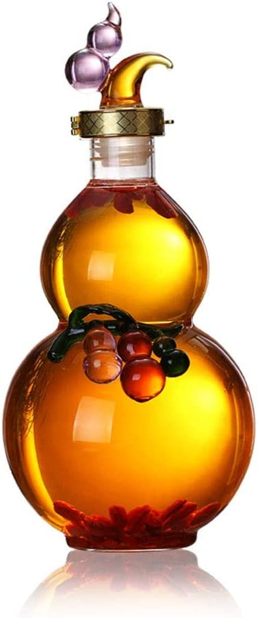 specialty shop Whiskey Decanter Gourd shaped Elegant Crafted – Handcrafted Mail order