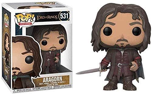 cheaacc Pop genérico ¡El señor de los Anillos! Aragorn Exquisite Collection Vinyl Series Películas Juguetes