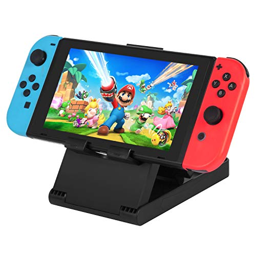Nintendo Switch Stand, Keten Switch Soporte Playstand de Juego Portatil Para la Switch Nintendo - Atril Compacto Con Altura Ajustable para la Consola Nintendo Switch