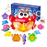 Joyjoz Juguetes De Baño Cangrejo Bubble Toys Bath Squirters Toys Stacking Cups...
