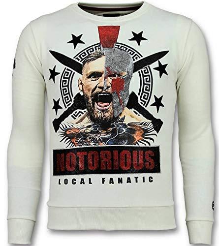 Notorious Trui - Mcgregor Warrior Sweater Heren - Wit