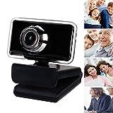 KXHWSH Tragbar Webcam HD 720P USB Plug and Play Eingebautes Mikrofon Mehrzweck-Anti-Rutsch-Basis, Zum Streamen von Spielekonferenzen