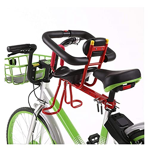 Scooter Front Mount Baby Carrier Seat Bike Bicycle Seats for Children 2-5 Years (up to 25kg) | Compatible with All Adult MTB | Easy to Install - Great for Adult Bike Attachment ( Color : A )