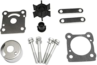 JingSer Yamaha 6HP 8HP Outboard Water Pump Parts Impeller Kit Replacement Sierra 18-3460 OEM# 6G1-W0078-A0, 6G1-W0078-A1