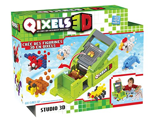 Asmokids Studio 3D Qixels Boy's Crafts