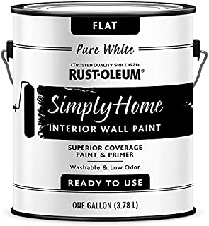 Rust-Oleum Simply Home Interior Wall Paint 332119 Simply Home Flat Interior Wall Paint Pure White