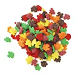 Dress My Cupcake Decorating Edible Cake and Cookie Confetti Sprinkles, Autumn Leaves, 2.2-Ounce