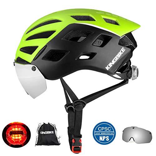 KINGBIKE Bike Helmet Bicycle Helmets Cycling for Adults Men Women...