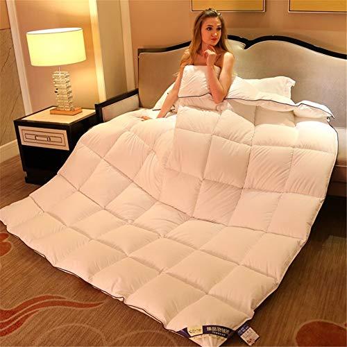 Shiwen Baumwoll-Bettdecke, Hoteldecke, Doppelbett, warm und dick, 200 x 230 cm, 3 kg