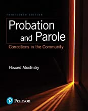 Best probation and parole corrections in the community 13th edition Reviews