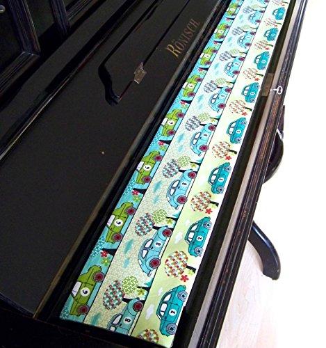 Tastenläufer für Klavier, Tastatur Rallye