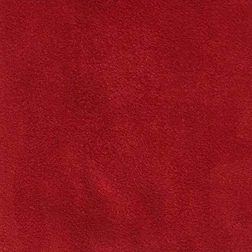 Red Excellent 2021 autumn and winter new Suede Microsuede Fabric Upholstery Drapery 5 Yards