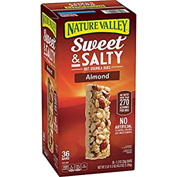 Nature Valley Sweet and Salty Nut Almond Granola Bars 36 Count