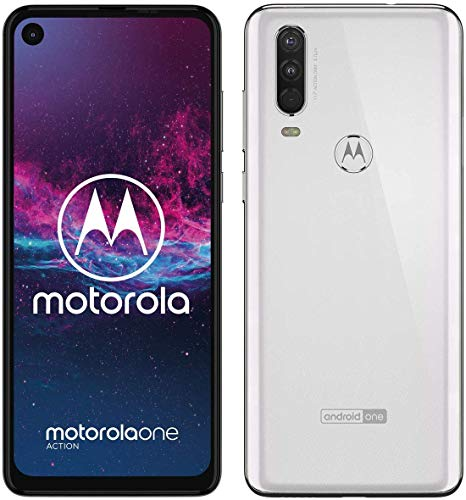 Motorola One Action - MADE FOR LATIN AMERICA & BRAZIL - (White, 128GB, 4GB RAM) - Unlocked - GSM...