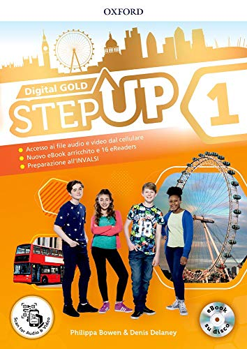 Step up gold. Student's book-Workbook-Extra book. Per la Scuola media. Con e-book. Con espansioni online. Con Libro: Min map [Lingua inglese]: Vol. 1