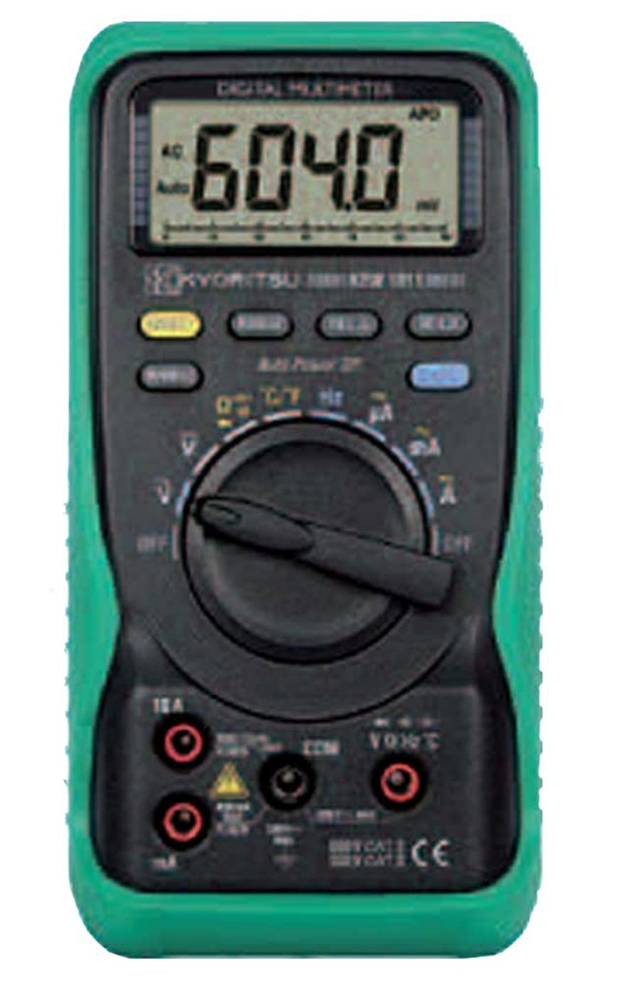 気分分析的なずんぐりした共立電気計器 (KYORITSU) 1011 キューマルチメータ
