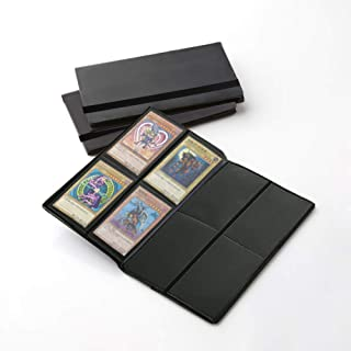 160 Pockets Trading Card Sleeves, Side Loading Pocket Binder, Album Pages Card Collector Coin Holders Wallets Sleeves Set …