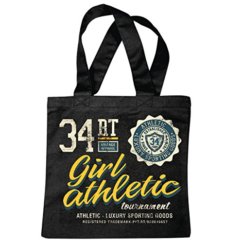sac à bandoulière FEMMES SPORT GIRL VINTAGE APPAREL ATHLETIC COLLEGE ÉQUIPE USA AMÉRIQUE LOS ANGELES CALIFORNIA BROOKLYN NEW YORK CITY MANHATTAN RUGBY BASEBALL FOOTBALL FOOTBALL Sac école Turnbeutel