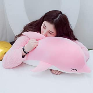 Soft toys Stuffed Toy-Down Cotton Dolphin Plush Toy Doll Dolphins Doll Large Sleeping Pillow Doll Send A Girlfriend A Birt...