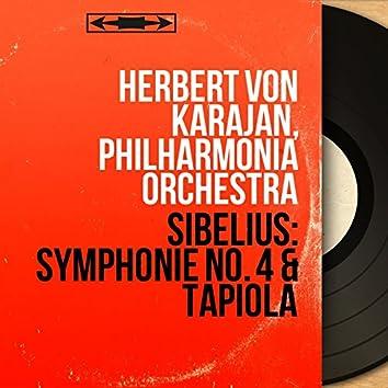 Sibelius: Symphonie No. 4 & Tapiola (Mono Version)