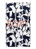 Roxy Cold Water-Toalla De Playa, Mujer, Mood Indigo Flying Flowers s, 1SZ