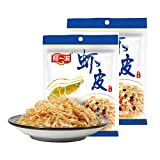Asia Dried Small Shrimp, Premium Grade Dried Shrimp without Salt, Dehydrated for Healthy Snacks, Omega 3, Calcium, Low-Fat & Low-Calorie, Exquisite Taste Seafood Salad, Pad Thai or Soup (100)
