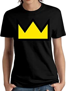 Wxf Womens Betty's Crown Fashion Tees Black