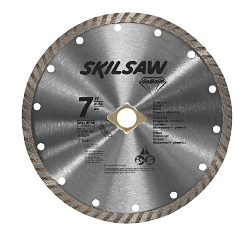 SKIL 7-Inch Turbo Rim Diamond Blade for Masonry