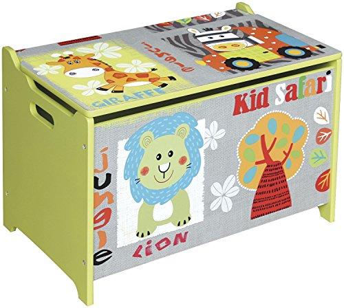 Bieco 74-004813 caja de almacenaje Multicolor Rectangular Madera - Cajas de almacenaje (Caja de almacenaje, Multicolor, Rectangular, Madera, Imagen, Interior)