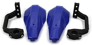 JFG RACING Blue Motocross Handguards 7/8 inch and 1 1/8 inches Hand Guards For Motorcycle Yamaha YZ80 YZ85 YZ125 YZ250 YZ250F Dirt Bike MX Supermoto Racing ATV Quad KAYO