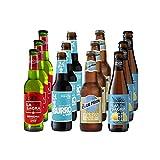 La Sagra Pack Degustación de Cervezas Artesanal Edición Verano - 12 botellas x 330 ml - Total:...