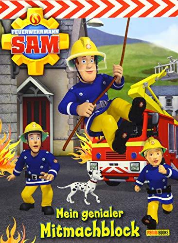 Feuerwehrmann Sam Activityblock: Mein genialer Mitmachblock