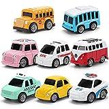Lihgfw Auto-Legierung ziehen Auto-Modell-Set for Jungen 4 Kinder Babyauto Spielzeug wie Kinder Geschenk ziehen Auto for Kinder ab 3 Jahren verwendet Werden kann