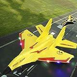 Tanktoyd RC avión de Juguete PPE Craft Foam eléctrico al Aire Libre RTF Radio Control Remoto de la Cola de Control de Empuje Quadcopter Velero Modelo de avión for Kid