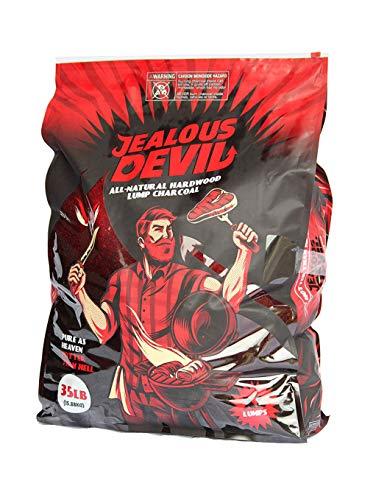 Jealous Devil All Natural Hardwood Lump Charcoal - 35 LBS