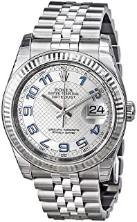 Rolex Datejust 36 Automatic Silver Dial Stainless Steel Jubilee Ladies Watch 116234