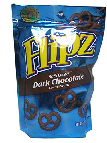 Pretzel Flipz Dark Chocolate 4 oz (113g)