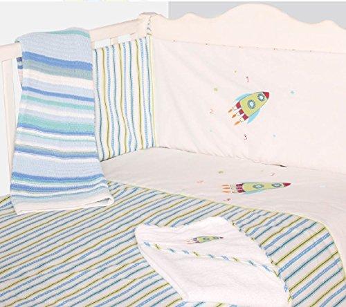 De la cama para bebés de para el cuidado del bebé y espuma con funda extraíble color azul del mismo tipo 2 piezas Con juego de palo de golf para niños ropa de cama para cuna de la bala