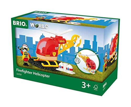BRIO Bahn 33797 - Feuerwehr-Hubschrauber