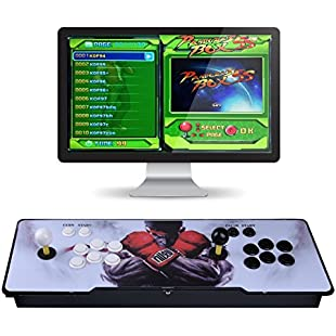 Video Game Console, Arcade Machine 1299 Classic Games, 2 Players Pandora's box 5S multiplayer home Arcade Console 1299 Games All in 1 NON-JAMMA PCB Double Stick Newest Design Buttons Power HDMI:Viralinfo