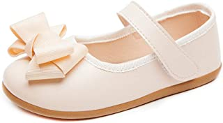 Dress Flats with Bowknot Ballerina Casual School Shoes for Girls