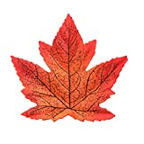 Enticerowts - 50 hojas de arce artificiales realistas para bodas, Halloween, fiestas, decoración de Halloween