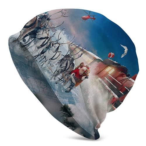 Polar Express - Gorras de cráneo suaves y cálidas para mujer, para correr, ciclismo
