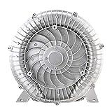 Wj Ventilador Vortex de Alta presión, Ventilador Industrial, Ventilador centrífugo, oxigenación acuícola 120w / 220v, 2800r / min