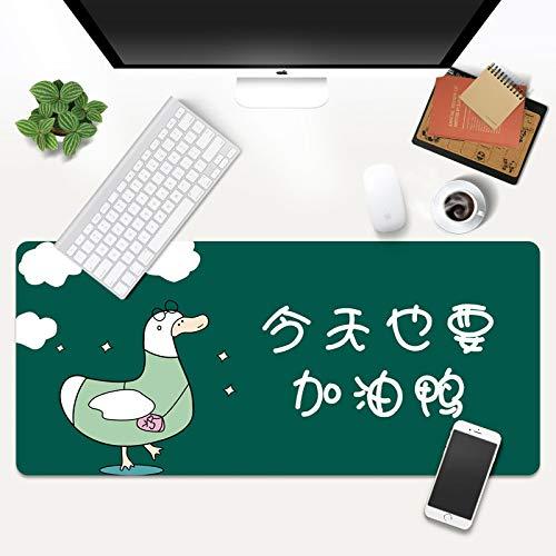 LJUKO Alfombrilla Raton Pato Espectáculo De Dibujos Animados 1000x500mm Alfombrillas de Ratón, Alfombrilla para ratón XXL Gaming Mouse Pad Mejora la precisión y la Velocidad para Gamers Ordenador