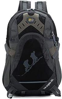 Zengzhijie mochila casual de senderismo, ligera mochila plegable mochila de senderismo impermeable mochila para montar turismo en roca escalada bolsa de deportes al aire libre (color: C)